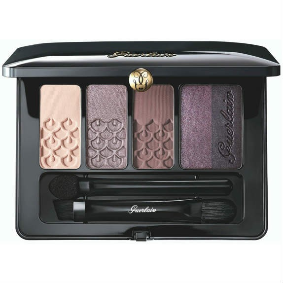 Guerlain Eyeshadow Patette 5 Colours Rose Barbare 01 6g