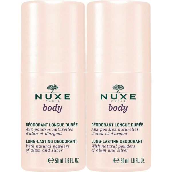 Nuxe Body Long Lasting Deodorant 50ml SPECIAL OFFER DOUBLE PACK
