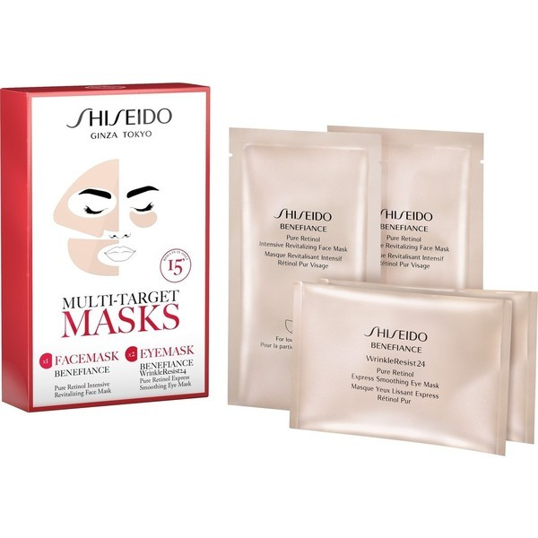Shiseido Benefiance Multi Target Masks Gift Set