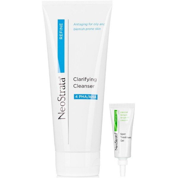 Neostrata Clarifying Facial Cleanser 200ml WITH FREE Spot Treatment Gel WORTH €21.95!
