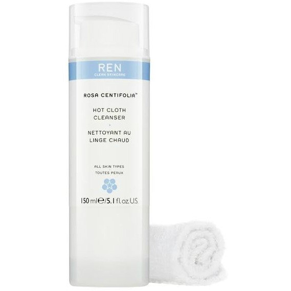 Ren Rosa Centifolia Hot Cloth Cleanser 150ml