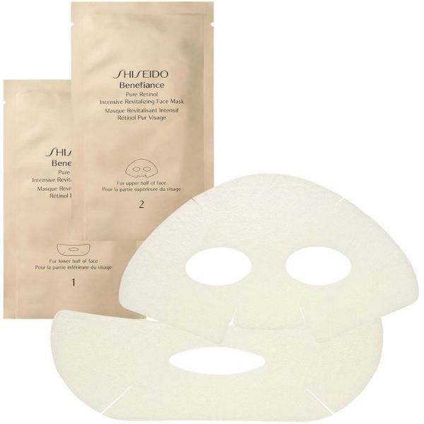 Shiseido Benefiance Pure Retinol Intensive Revitalizing Face Mask (4 Masks)