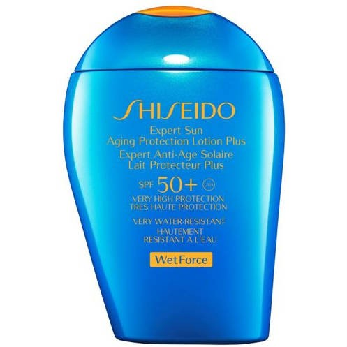 Shiseido Wetforce Expert Sun Aging Protection Cream for Face and Body SPF50 100ml