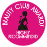 Beauty Club Awards Highly Recommended