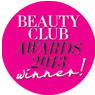 Debenhams Beauty Club Awards 2013 Winner