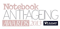 Notebook Anti-Ageing Awards 2013