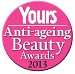 Yours Anti-Ageing Beauty Awards 2013