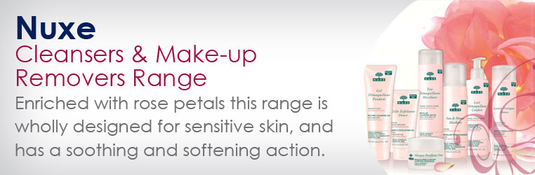 Nuxe Cleansers and Make-Up Removers Range